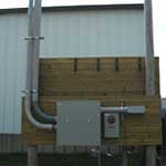 Commercial Electrical Panel in Payette Idaho Installed by Licensed Electrical Contractors, Burke Electric, Inc.