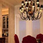 Formal Dining Room Lighting in Boise Idaho Installed by Licensed Electricians Burke Electric, Inc.
