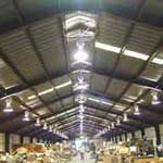 Warehouse Lighting Wired by Burke Electric's Licensed Electricians in Fruitland, Idaho