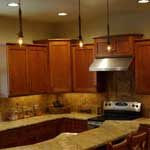Professionally Installed Pendant Lighting in Ontario Oregon by Licensed Electricians, Burke Electric, Inc.